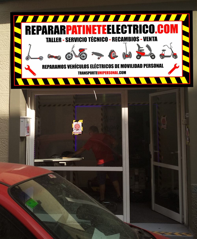 Reparación de vehículos electricos de movilidad personal