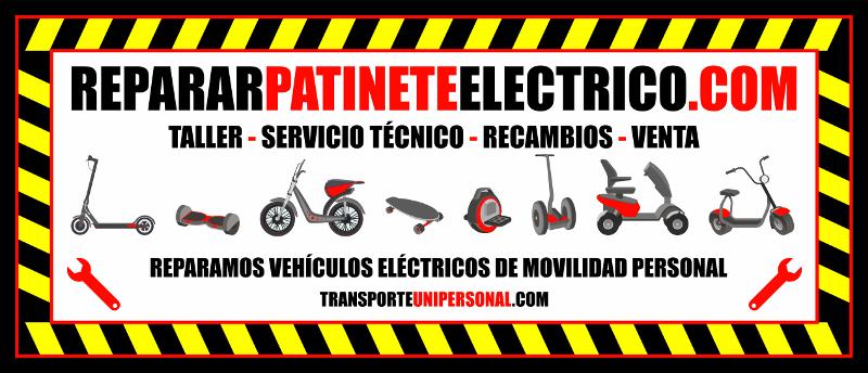 servicio tecnico patinetes electricos